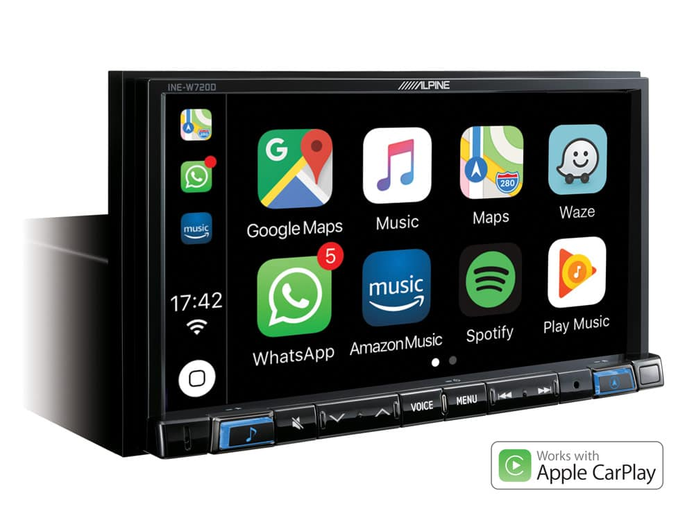 Navigation-System_INE-W720D_Works-with-Apple-CarPlay