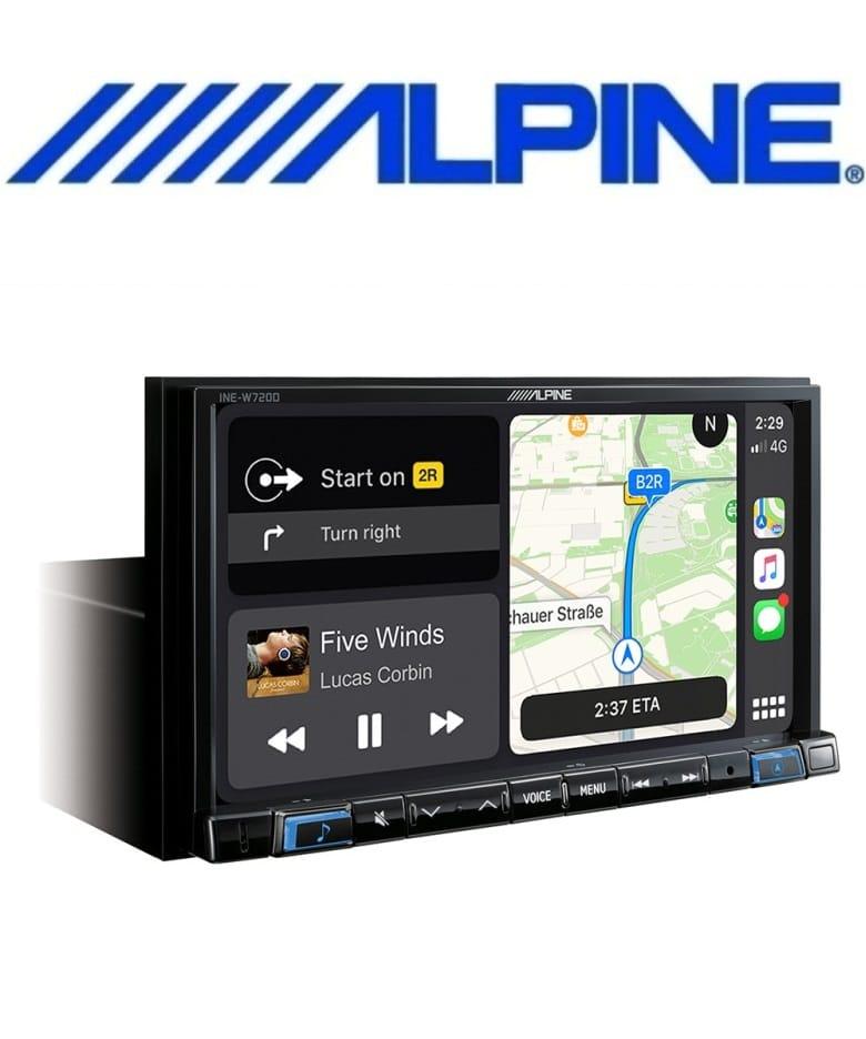 alpine inw-w720d