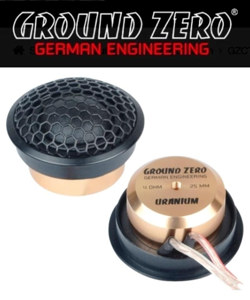 Ground Zero GZUT 25SQX