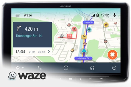 iLX-F903D-Waze
