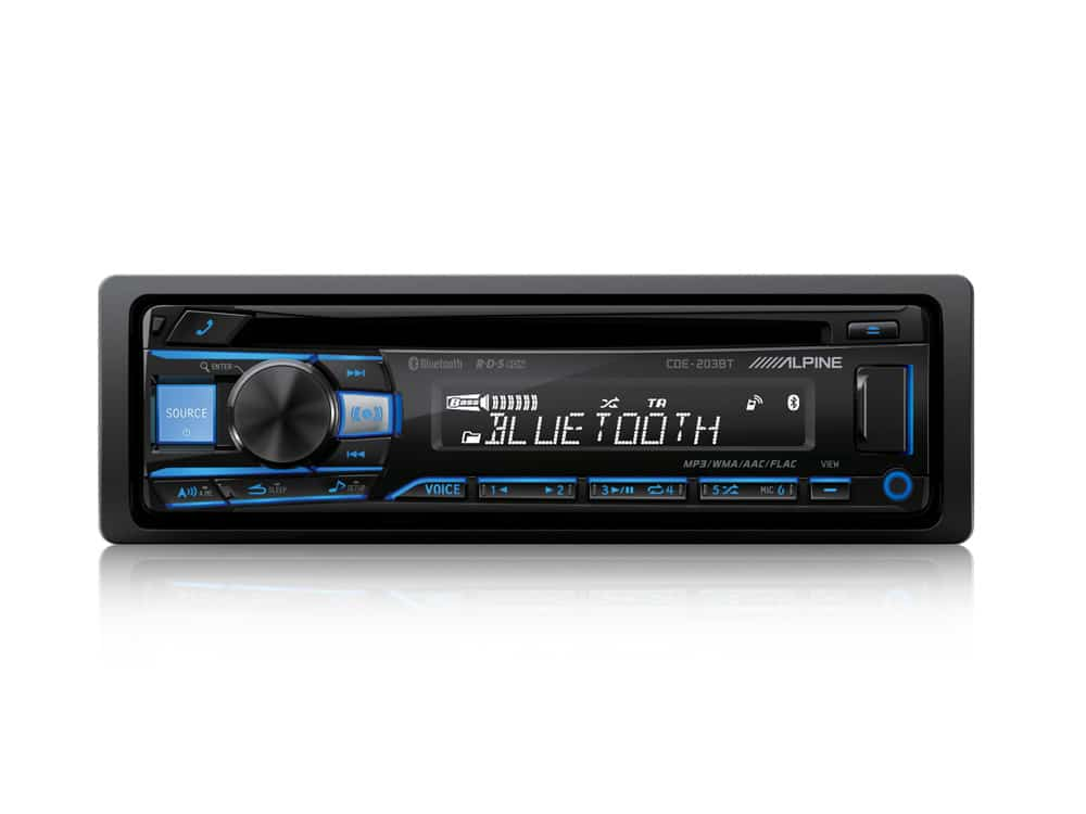 CD-tuner-with-Bluetooth-CDE-203BT-Blue-Front