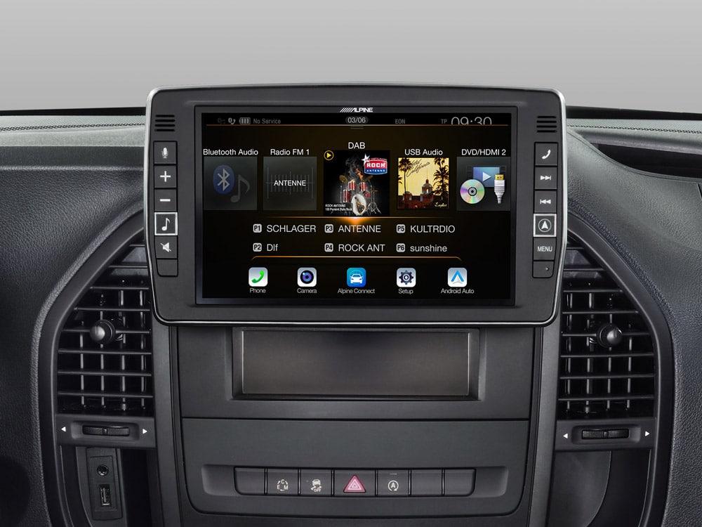 Mercedes-Vito-Android-Auto-X902D-V447-Menu