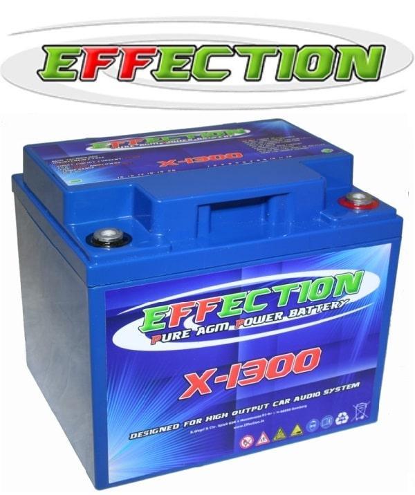 effection- x – 1300- pure – agm – batterie