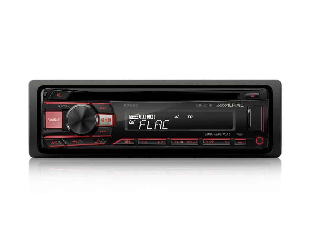 CD-tuner_CDE-201R_Red-Front