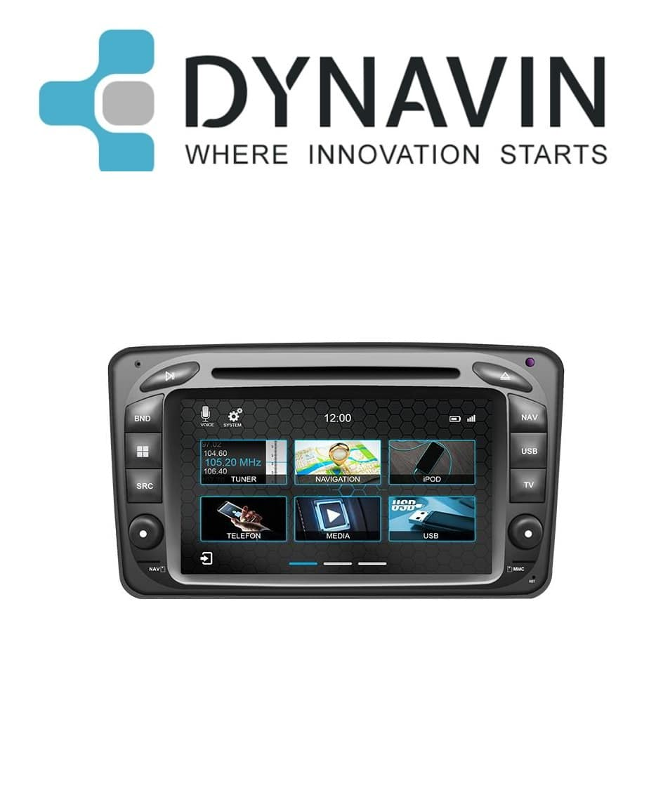 dynavin-mercedes-Mercedes CLK, Vito, Viano, C-Klasse und G-Klasse