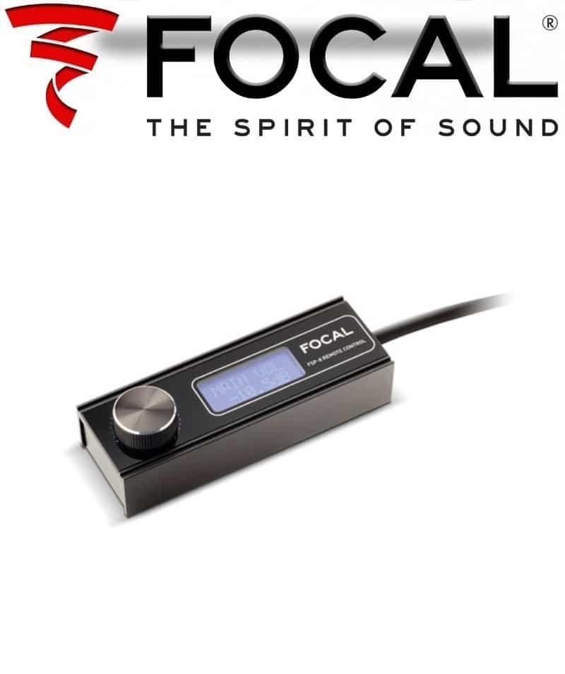 focal dsp remotecontrol