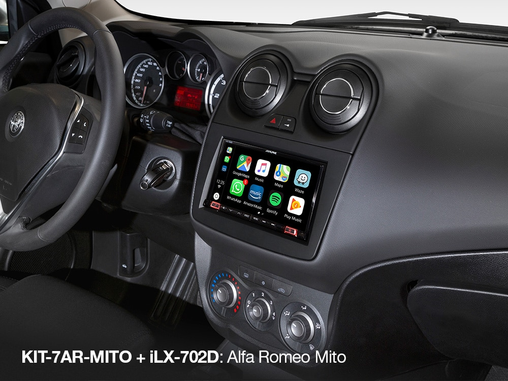 Apple-Carplay-Screen-in-Alfa-Romeo-MITO_iLX-702D_with_KIT-7AR-MITO