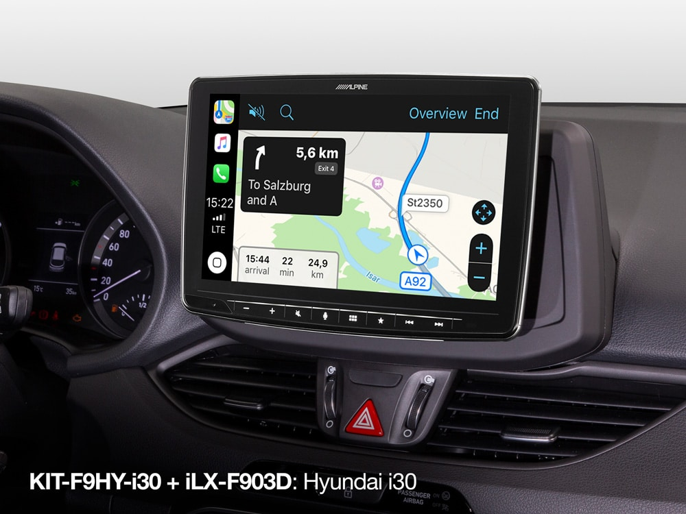 KIT-F9HY-i30_with_iLX-F903D_in-Hyundai-i30-Apple-CarPlay-Map