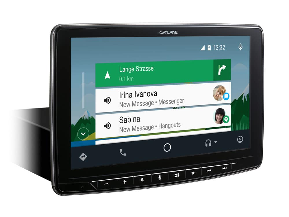 Online-Navigation-iLX-F903S907-AndroidAuto-Menu-for-Mercedes-Sprinter