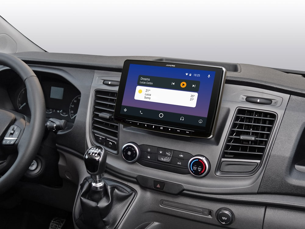iLX-F903TRA_Designed-for-Ford-Transit_with-Android-Auto-compatibility