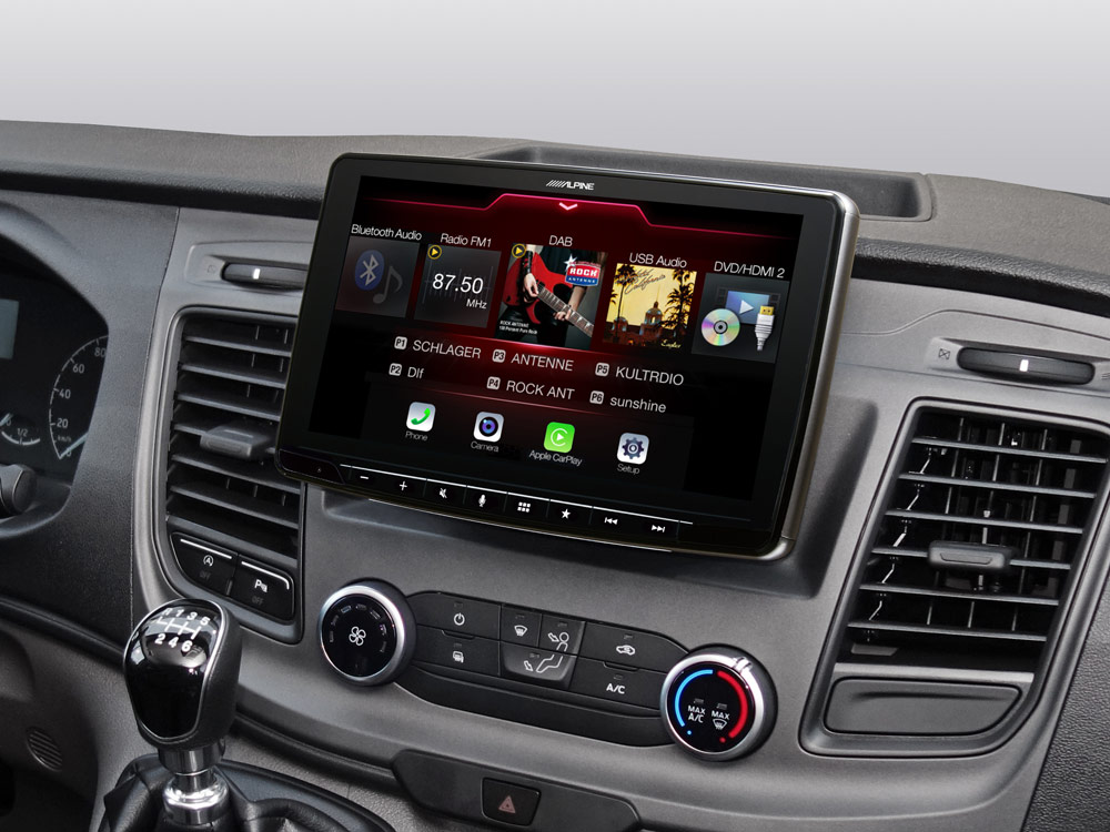 iLX-F903TRA_Online-Navigation_for_Ford-Transit_Source-Menu-DAB-DVD-RADIO