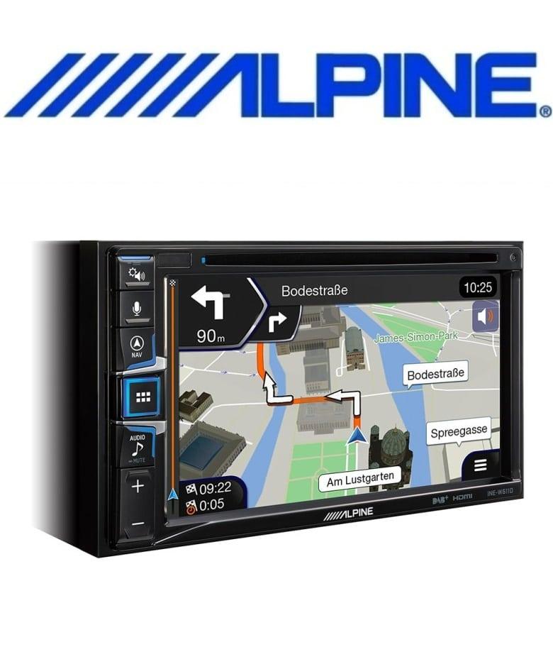 Alpine INE-W611D