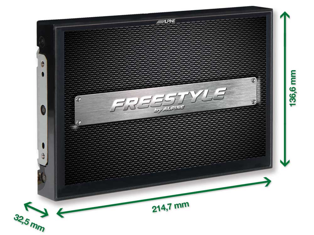 Freestyle-Navigation-System-X903D-F-Screen