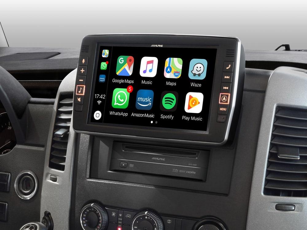 Mercedes-Sprinter-Apple-CarPlay-X903D-S906