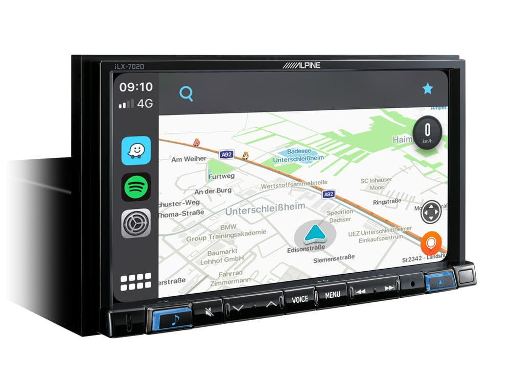 Online-Navigation-System-iLX-702D-Apple-CarPlay-Map