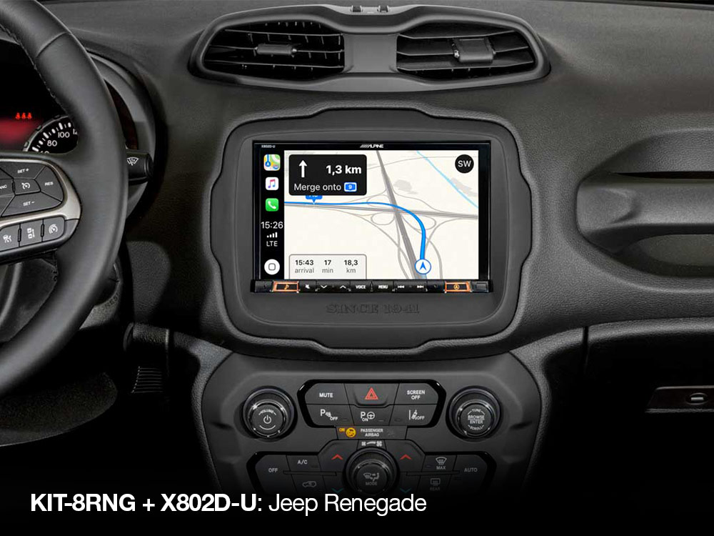 Navigation-System-X802D-U-Apple-CarPlay-Map