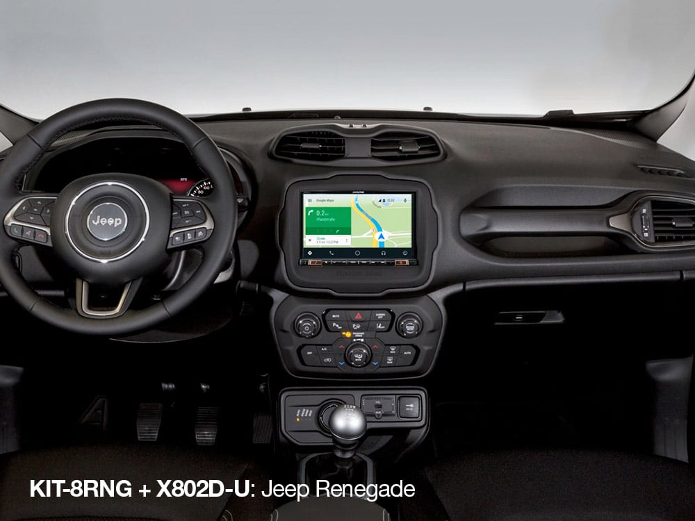 X802D-U-in-Jeep-Renegade-with-KIT-8RNG-Android-Auto-Google-Maps