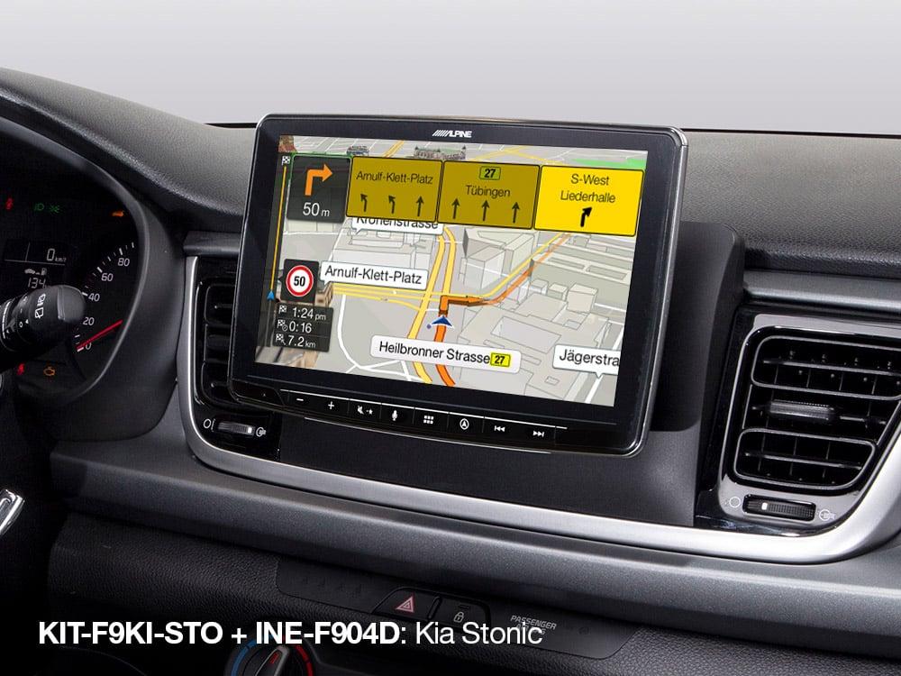 Built-in-iGo-Primo-Navigation-Map-in-Kia-Stonic_INE-F904D_with_KIT-F9KI-STO