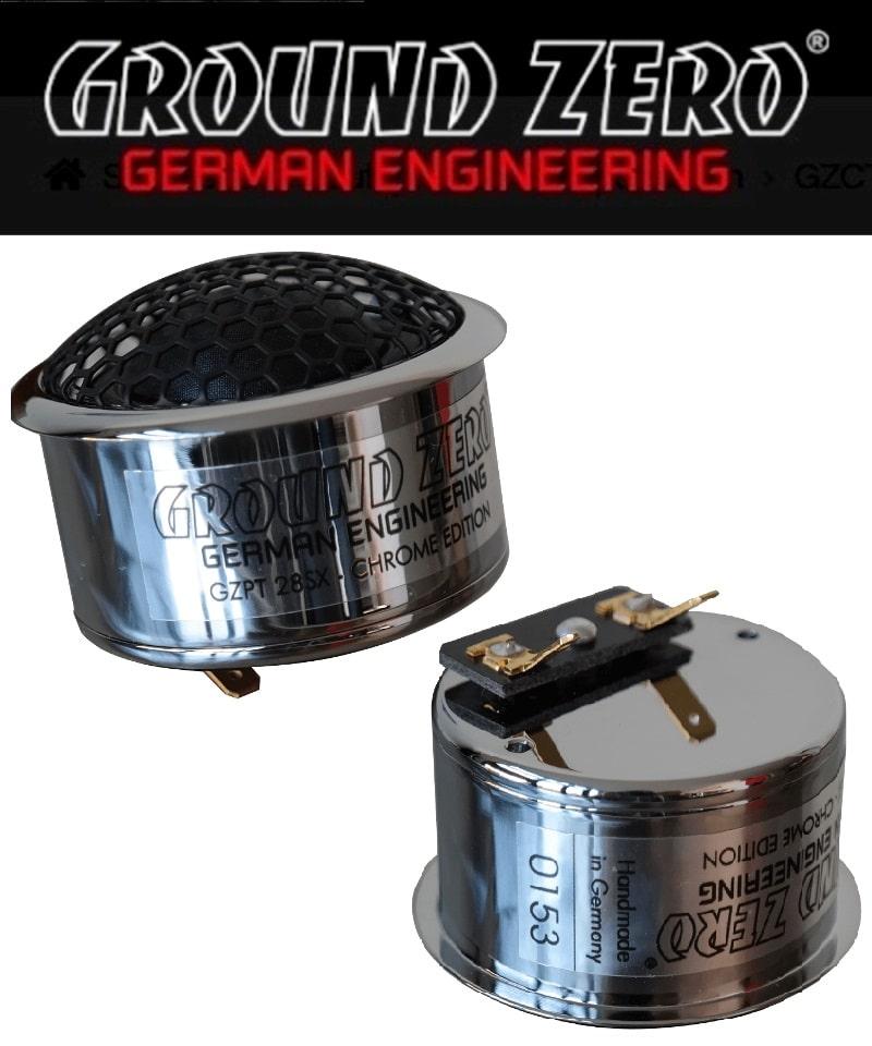 Ground Zero GZPT 28SX Chrome Edition