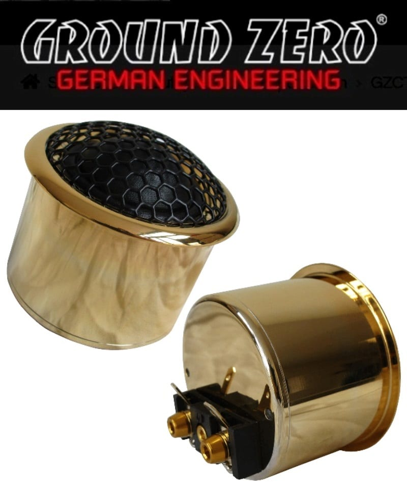 Ground Zero GZPT Reference 28 Gold Edition