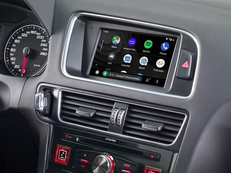 Audi-Q5-Navigation-System-X703D-Q5-with-Android-Auto-Menu