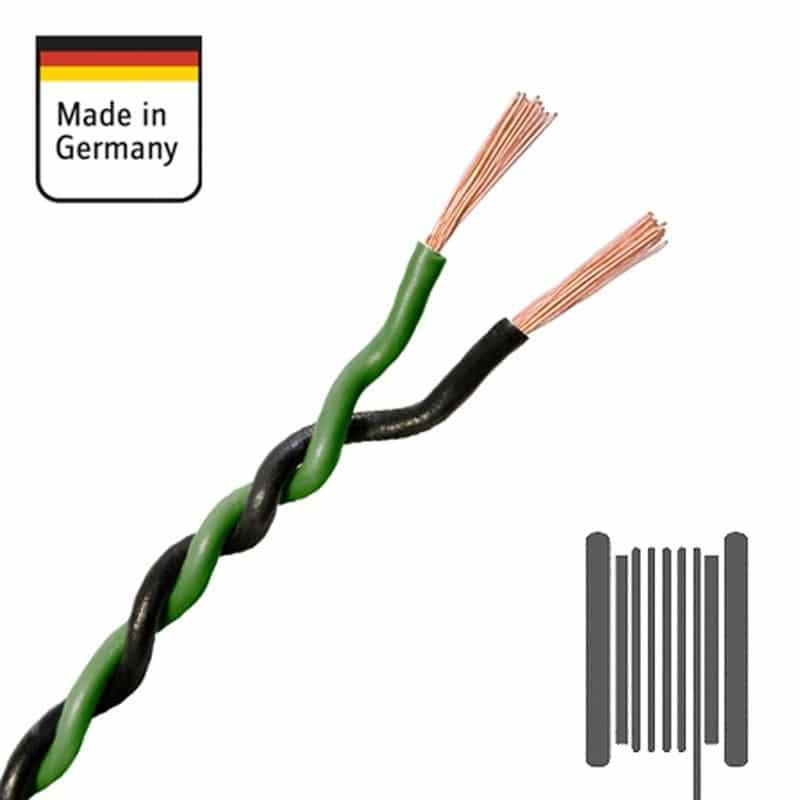 AMPIRE-Verdrilltes-Kabel-GRUeN-SCHWARZ-